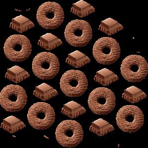 Rosquinha de Chocolate
