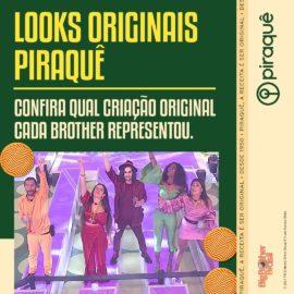 Eu não sei se você reparou, mas na Festa Original Piraquê, cada brother tinha um look...