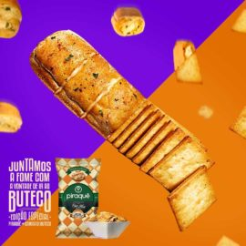 O sabor inigualável do Pão de Alho, o toque picante insuperável da pimenta e o gosto...